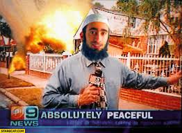 Islam Meme - absolutely peaceful house on fire muslim islam meme starecat com