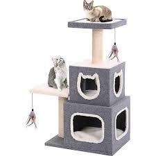 Petco Cat Beds Penn Plax Cat Cube Tower Petco