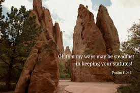 daily on my way to heaven praying the psalms psalm 119 1 8