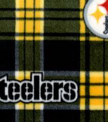 pittsburgh steelers nfl plaid fleece fabric joann