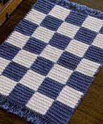 blue and white checkerboard rug favecrafts com