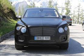 bentley suv 2016 spied 2016 bentley crossover pictures india car news