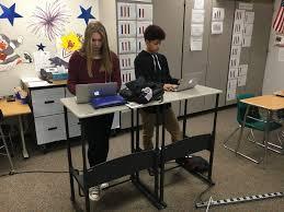 Standing Desks For Students Batesville Community Education Foundation Standing Desks At Bms A