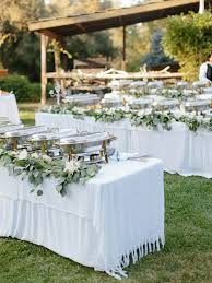 how to make a buffet table how to a estate wedding for 300 without spending