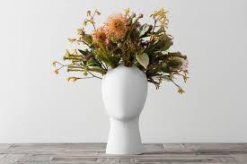 white wig flower vase u2013 crowdyhouse
