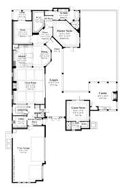 Scaled Floor Plan Mediterranean Style House Plan 4 Beds 5 00 Baths 3777 Sq Ft Plan