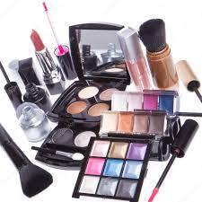 set of cosmetic makeup products u2014 stock photo kubais 9052836