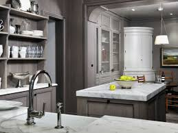 Grey White Kitchen Best Photos Of White Kitchens Dark Gray Stained Kitchen Cabinets