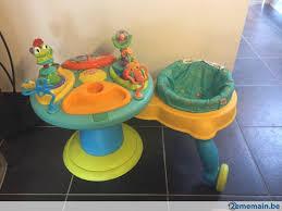 table d activité avec siege rotatif table d activités avec siège a vendre 2ememain be