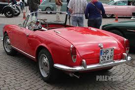 vintage alfa romeo giulia 1961 alfa romeo giulietta spider rear view 1960s paledog