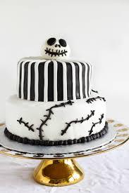 nightmare before cake skellington cake the