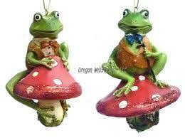 71 best frog ornaments images on frogs
