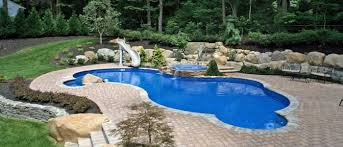 Deep Backyard Pool by Mountain Lake Swimming Pool Kits Pool Warehouse
