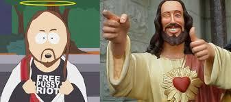 Buddy Christ Meme - jésus dans la pop culture de la bd aux mèmes