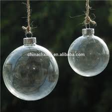hanging tree decorations clear glass balls ornament