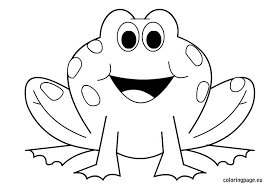 fresh frog coloring sheet perfect coloring pag 7072 unknown