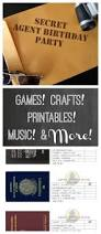 thank you for inviting me to your birthday party secret agent birthday party ideas printables games and more
