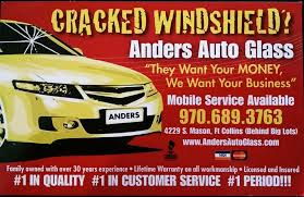 anders auto glass home