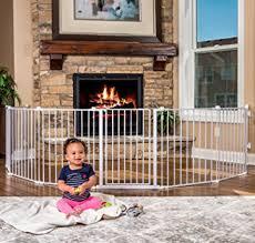 Fireplace Child Safety Gate by Choosing A Safe Fireplace Baby Gate For Your Home Baby Gate Guru