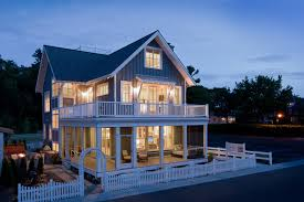 New England Beach House Plans Beach Style House Plan 4 Beds 3 5 Baths 2769 Sq Ft Plan 901 120