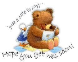 get well soon teddy well soon teddy