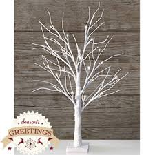 buy season s greetings table top snowy white sparkle tree at home