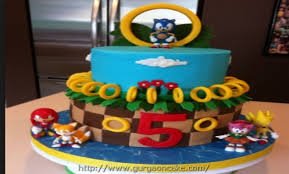 sonic the hedgehog cake toppers sonic the hedgehog birthday cake decorations 1264