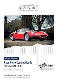 race retro competition u0026 classic car sale 24th 26th february by