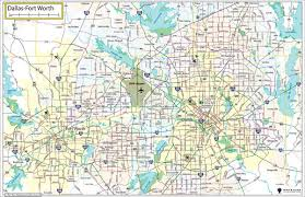 fort worth map dallas fort worth wall maps in paper laminated or mounted