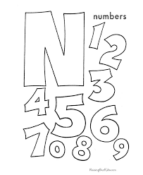 free printable number coloring pages 14 best coloring pages images on pinterest coloring sheets