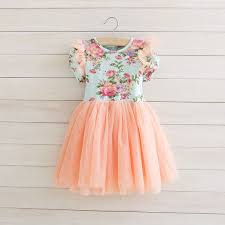 5t ivory pink floral toddler tutu dress vintage toddler