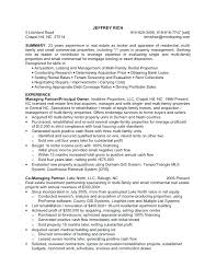 real estate resume templates real estate resume template real estate