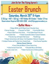 Easter Brunch Buffet by Easter Brunch Buffet Flying Apron Inn U0026 Cookery
