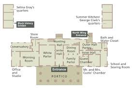 The Office Us Floor Plan Office And Studio Arlington House The Robert E Lee Memorial