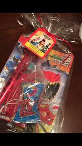 power rangers megaforce birthday party another pinterest idea goodie bags power tanger dino charge theme