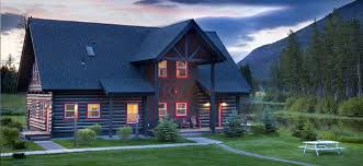Luxury Cabin Homes Luxury Montana Log Cabin Rental Lake Blaine Mountain Resort