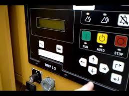 reset the maintenance alarm on a cat generator youtube