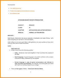 official letter writing format in english image collections