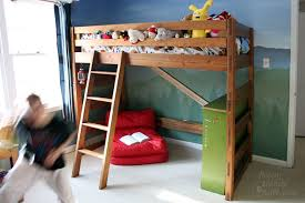How To Build A Loft Bunk Bed With Stairs by How To Turn A Bunk Bed Into A Loft Bed
