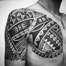 tribal shoulder tattoo 67 img pic bodyart