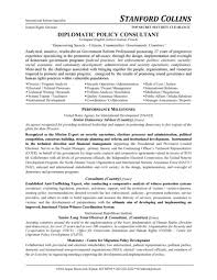 Sample Resumes For Lawyers by Policy Consultant Resume