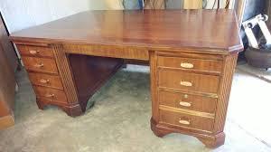 Drexel Desk Vintage Drexel Heritage Executive Desk U2013 Solid Mahogany U2013 Lrg 6