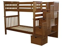 Bunk Bed King Bunk Beds Stairway Expresso 659 Bunk Bed King