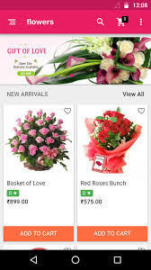 e flowers create flower and decoration shop mobile app with ohoshop