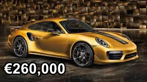 porsche 911 convertible 2018 2018 porsche 911 turbo s exclusive series 610hp u20ac260 000 youtube