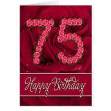 75 year old birthday cards u0026 invitations zazzle co uk