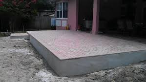 Thin Patio Pavers Thin Pavers Concrete Porch