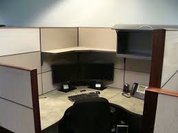 Office Furniture Used Allsteel Terrace 6x6 Hi Lo Cubicle