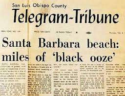 black friday santa barbara santa barbara oil spill u201d1969 california the pop history dig