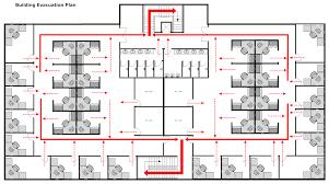 emergency exit floor plan signs emergency evacuation floor plan
